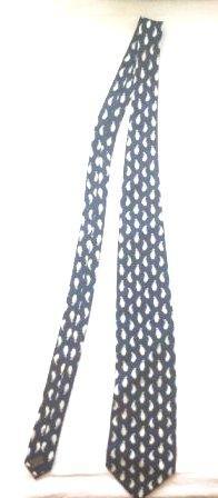 Прикольный галстук Пингвинчики