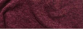 Трикотаж Ангора Софт Меланж, бордовый, фото 2