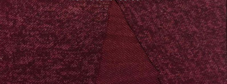 Трикотаж Ангора Софт Меланж, бордовый