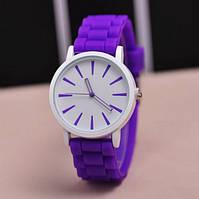 Спортивные женские часы фиолетовые