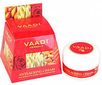 Крем для лица Омолаживающий с экстрактами миндаля розы и зародышами пшеницы, 30мл, VAADI
