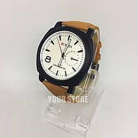 Наручні чоловічі годинники білі Curren