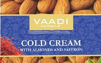 Крем для лица зимний с миндальным маслом и шафраном, 150г, VAADI