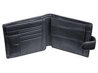 Кошелек мужской кожаный с дополнительным отделом для пластиковых карточек Boston