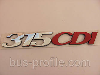 Надпись «315 CDI» на MB Sprinter 906 2006→ — TURKEY — 9068171014