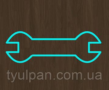 Вырубка кондитерская для пряника мастики марципана гаечный  ключ