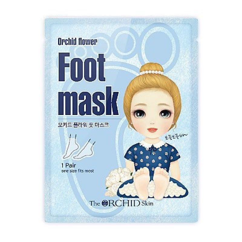 Маска для ног с экстрактом меда  The Orchid Skin Foot Mask Sheet