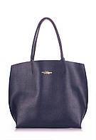 Кожаная сумка POOLPARTY pearl-blue
