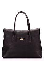 Кожаная сумка POOLPARTY Sense black