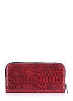 Кожаный кошелек poolparty-snake-wallet-red