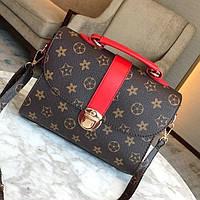 Женская сумка в стиле Луи Витон Красный, фото 1