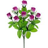 Букет  роза бутон, 42см  (20 шт в уп), фото 2
