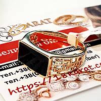 Перстень xuping 21р высота 8мм печатка мужская м415, фото 1