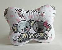 Детская ортопедическая подушка для лечения и профилактики кривошеи у младенцев Коалы