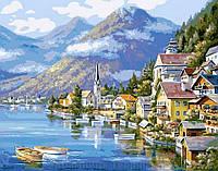 Алмазная живопись 'Живописная Австрия' 30x40cm (pdf37)
