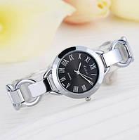 Часы женские браслет серебро