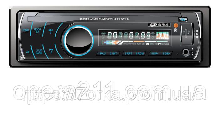 Автомагнитола с хорошим звучанием популярная сенсорные кнопки SP-3205 ISO съемная синяя USB SD