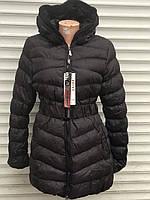 Женская зимняя черная куртка распродажа