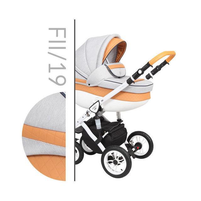 Коляска 2 в 1 Baby Merc Faster Style 2 FI/19 (бебі мерс фастер) Безкоштовна доставка