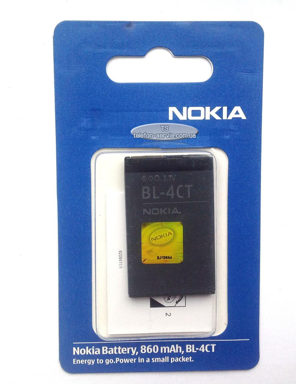 Батарея до мобільних телефонів Nokia BL-4CT