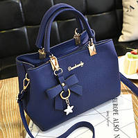 Модная женская сумка с брелком