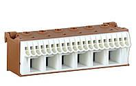 Блок PE-клемм, кол-во единиц деления - 3,5; ширина - 105 мм