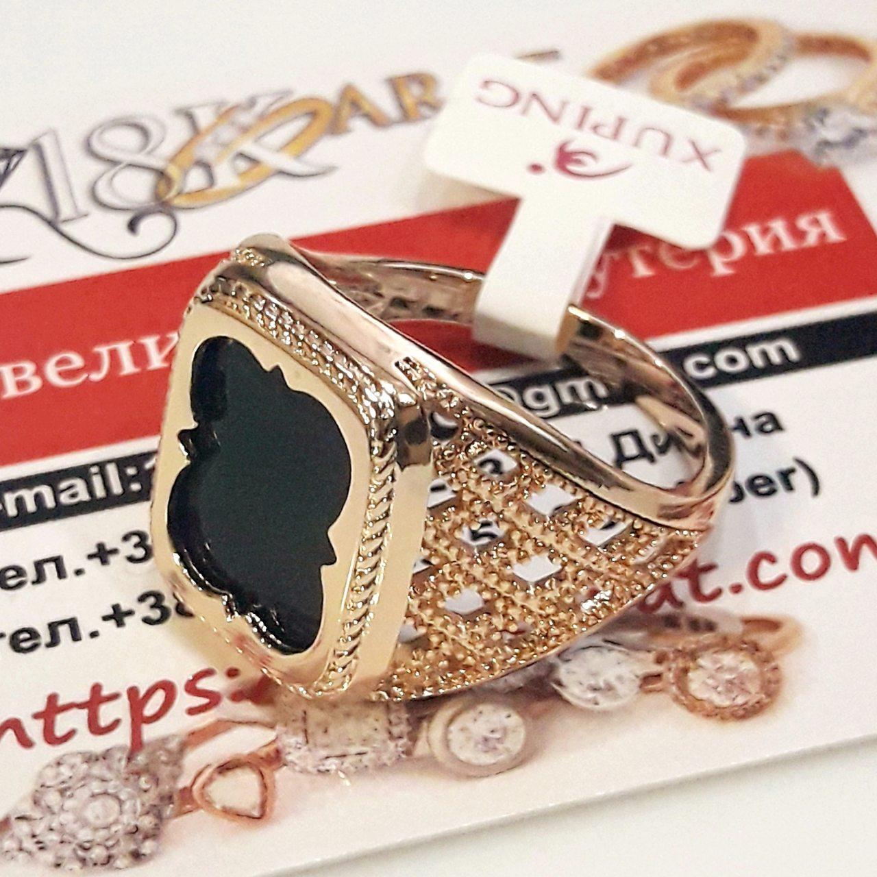 Перстень xuping 23р печатка мужская м339