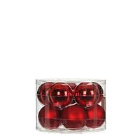 """Елочные шарики 10 шт., """"House of Seasons"""" комплект, цвет красный"""