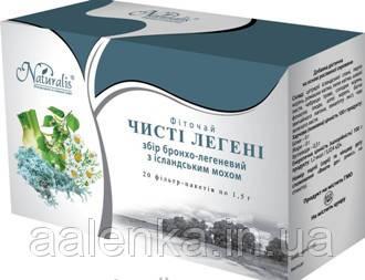 Фиточай Чистые лёгкие 20ф/п , Naturalis