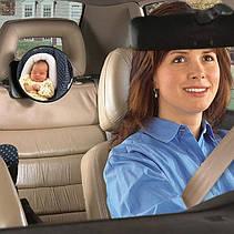 Зеркало для контроля за ребенком в автомобиле Diono Easy Vie, фото 3