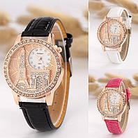 Женские наручные часы с башней