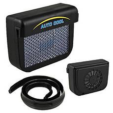 Вентилятор на сонячній батареї Auto Cool, авто вентилятор, фото 3