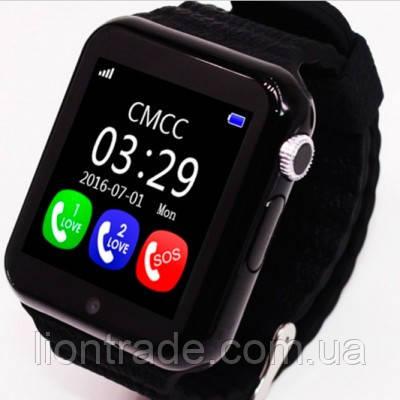 UWatch Детские часы Smart GPS V7K Black