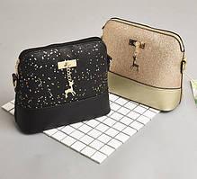 Женская сумочка с блестками