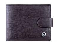 Классический мужской кожаный кошелёк,бумажник,портмоне  Boston Brown