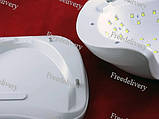УФ-лампа для сушки при наращивании гелевых ногтей SUN X LED+UV 54Вт, фото 3
