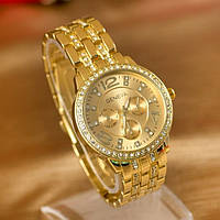 Женские золотые часы Geneva