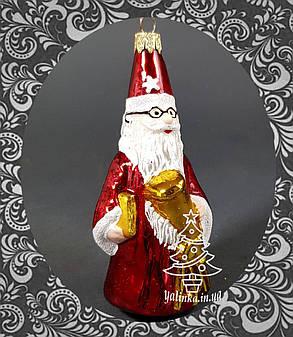 Стеклянная елочная игрушка Звездочет 267/с, фото 2