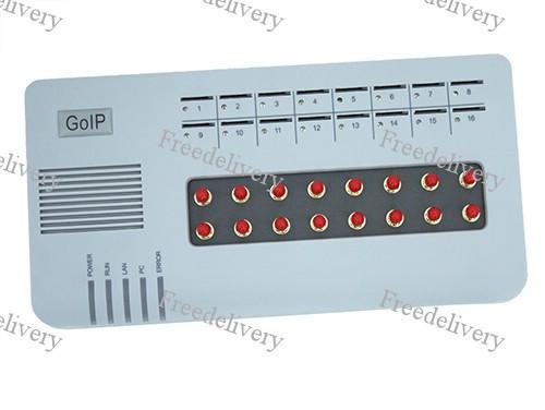 VoIP GSM шлюз GoIP 16 каналов SIP H.323