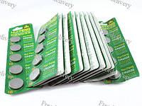 100x Батарейка таблетка CR2032, 5004LC L14, литий, малоемкостные, фото 1