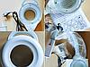 Лампа-лупа настольная LED подсветка регулировка яркости, фото 3