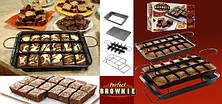Порционная форма для выпечки Perfect Brownie Перфект Брауни, фото 3