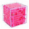 Куб-лабиринт с шариком Kronos Toys Розовый
