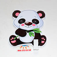 Держатель рисунка с прищепкой Панда
