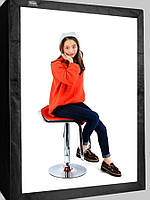 Фотобокс (лайткуб) для предметной съемки Puluz PU5210; размер 2x1,2x0,8 м