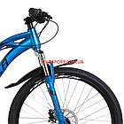 Горный велосипед Formula Dakar HDD 26 дюймов синий с оранжевым, фото 2