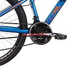Горный велосипед Formula Dakar HDD 26 дюймов синий с оранжевым, фото 3