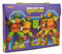 """Портфель 1В пластиковый """"Ninja Turtles"""" 1 Вересня"""