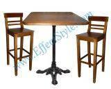 Набор стол и стулья высокие SNP3