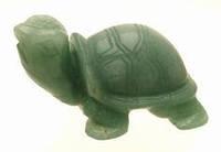 Черепаха из натурального камня.